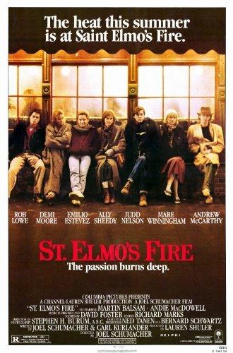 St. Elmo's Fire POSTER Movie (11 x 17 Inches - 28cm x 44cm) (1985)