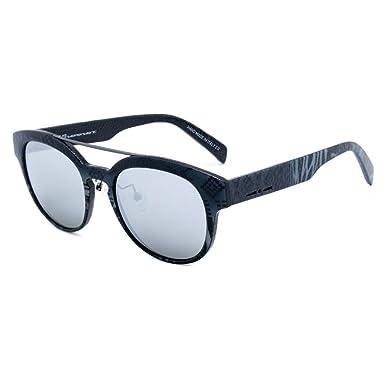 italia independent 0900AINX-071-000 Gafas de Sol, Gris/Negro ...