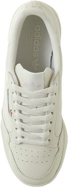 buy online 13fc6 1e462 adidas Herren Continental 80 Fitnessschuhe Mehrfarbig (Multicolor 000) 43  1 3 EU