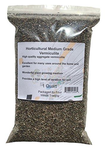 Horticultural Medium Grade Vermiculite (1 Quart)