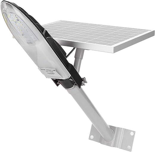GOTOTP Farola Solar de 30 LED de Seguridad con Sensor de Microondas Impermeable IP65 6500K Focos LED Exterior Solar de Pared con Sensor Crepuscular 30W: Amazon.es: Jardín