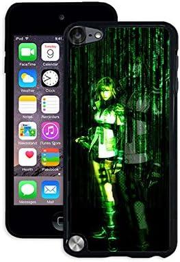 Película iPod Touch 5th caso el Matrix iPod Touch 5th caso animación para Boy, Vintage resistente a los arañazos carcasa de carcasa para iPod Touch 5th