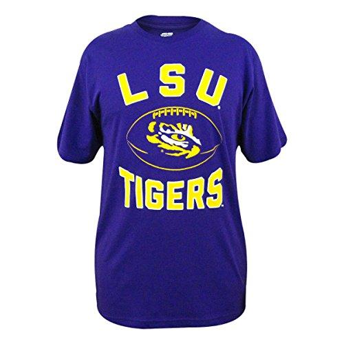 LSU Tigers The Grid Mens Purple Tee