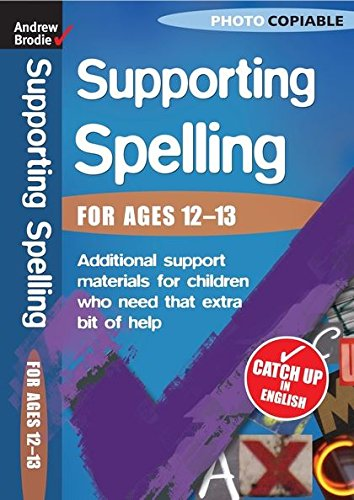 Spelling 12-13 (Supporting Spelling)