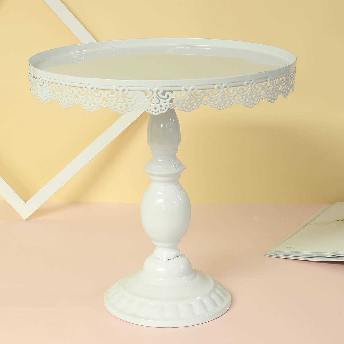 color blanco Soporte para tartas redondo para postres 30 unidades sorliva