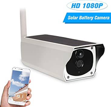 HD 1080P Outdoor Solar Security IP Camera Wireless WIFI PIR Camera Night Vision