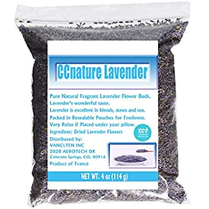CCnature Organic Lavender Flowers Dried Lavender Buds Culinary Grade 4oz 88