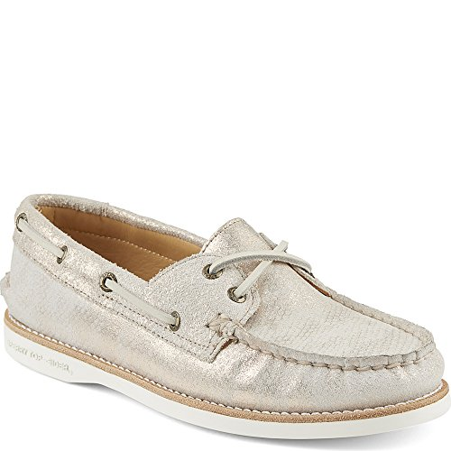 Cup Leather Women's Leather Rose Sperry Originals Ankle High Shoe Gold Flat Authentic PEXE8qd
