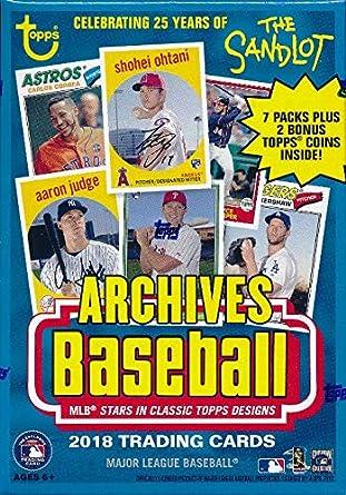 2018 Topps Archives Baseball Factory Sealed Hobby Box