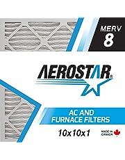 Aerostar P25S.012525.CAN.MKT 25 x 25 x 1 Furnace Air Filter by - MERV 13,