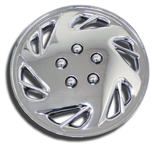 chrome wheel covers crv 2007 - 4