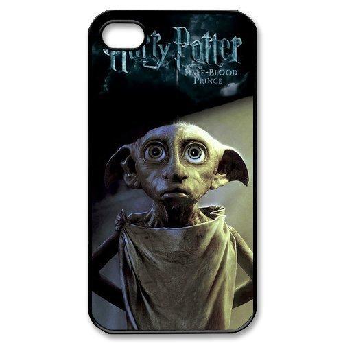 Graziosa cover rigida con stampa dellelfo Dobby, personaggio della saga di Harry Potter, per iPhone 4 e 4S