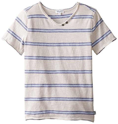 Splendid Big Boys' Classic Short Sleeve Tee, Stripe, 14