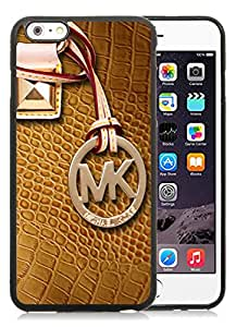 Hot Sale Customized iPhone 6plus With Michael Kors 101 Black Silicone TPU Cell Phone Case For iPhone 6plus 5.5 Easy Set