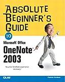 Microsoft Office OneNote 2003, Patricia Cardoza, 0789731487