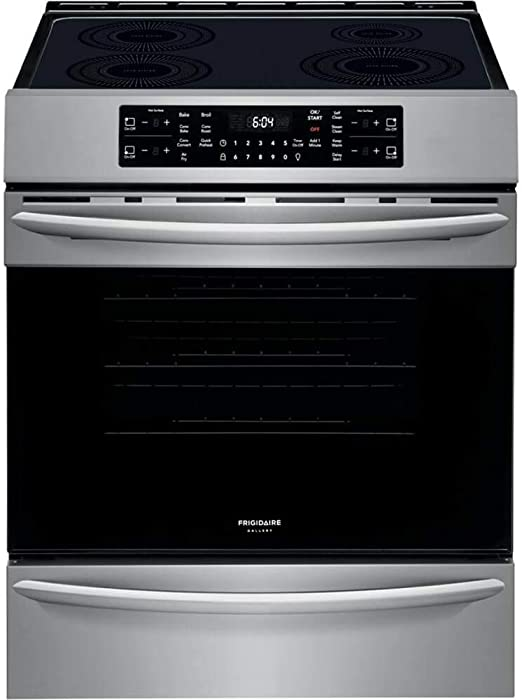 Frigidaire FGIH3047VF Gallery Series 30 Inch Stainless Steel Induction Electric Convection Freestanding Range
