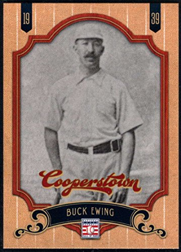 Ewing Card - Baseball MLB 2012 Panini Cooperstown HOF #11 Buck Ewing NM-MT NY Giants