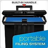 """Pendaflex Portable File Box, Black, 11"""" H x 14"""" W x"""