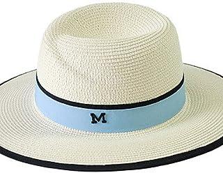 ZYT Da donna Estate Paglia Casual Cappello da sole,Collage , beige , one-size