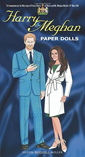 Harry and Meghan Paper Dolls (Dover Celebrity Paper Dolls) cover