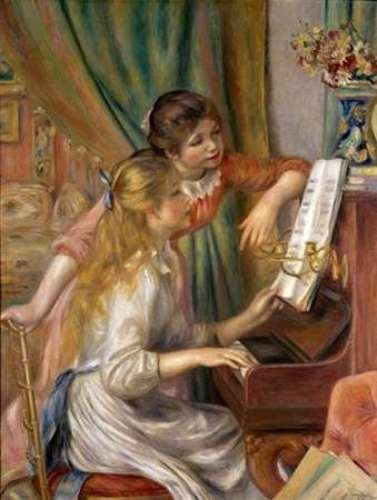 Two Young Girls at the Piano by Pierre-Auguste Renoir - 12