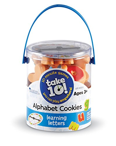 Learning Resources Take 10! Alphabet Cookies