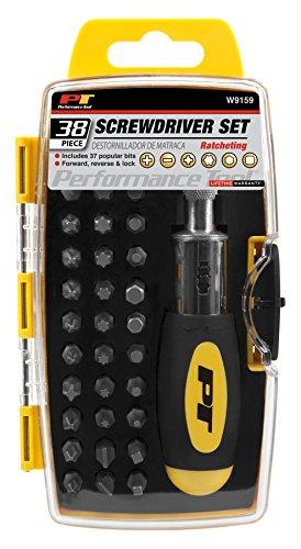 Performance Tool W9159 Ratchet Screwdriver Set (38 pc)
