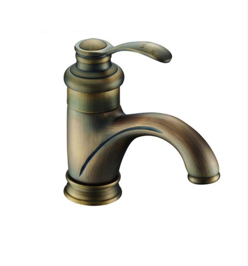 Edelstahl Einhand Wasserhähne Küche Badezimmer Klassische Becken Wasserhahn Mischer Einlochmontage Deck Montiert Messing Körper Poliert Verchromt
