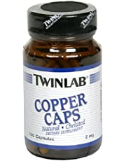 Twinlabs 80478 Nutritional and Dietary Supplements Copper 2 Mg