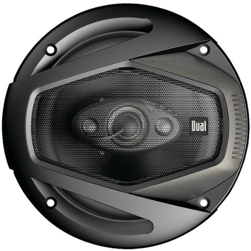 Dual Electronics DLS524 4-Way 5 ¼ inch Car Speakers with 120 Watt Power & 30mm Mylar Balanced Dome Midrange by Dual Electronics