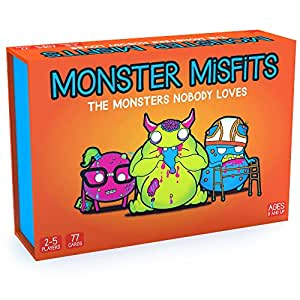Monster Misfits: A Ridiculous Card Game