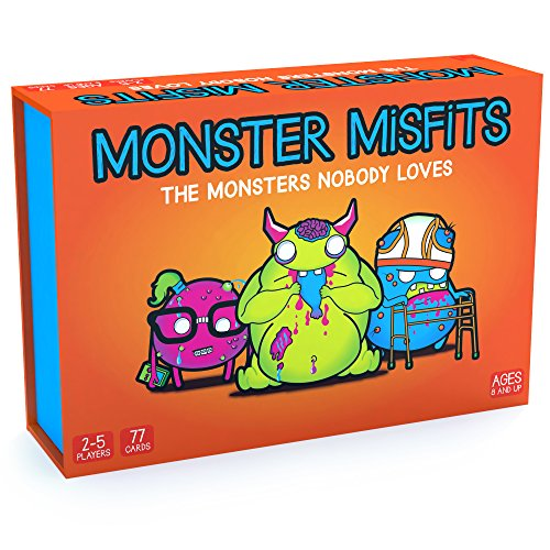 Monster Misfits  A Ridiculous Card Game