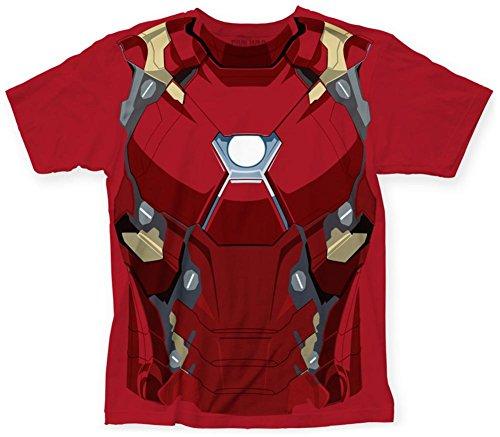 Iron Man Costume Ideas (Captain America: Civil War- Iron Man Costume Tee T-Shirt Size XL)