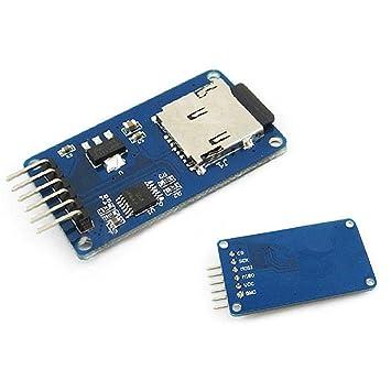 Amazon.com: Mciro SD TF - Tarjeta de expansión para Arduino ...