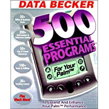 500 Essential Programs for Your Palm (DVD Size Package)