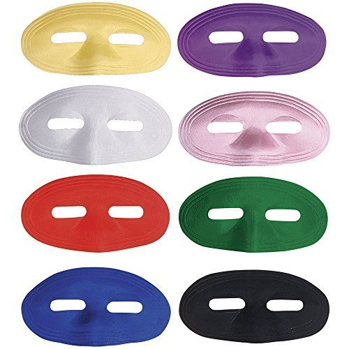 Rubie's Costume Co Green Satin Domino Mask Costume by (Green Domino Mask)