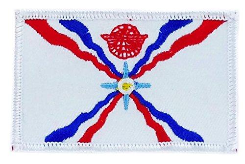 Patch Aufnäher bestickt Flagge Assyrien Assyrien zum Aufbügeln Abzeichen Backpack