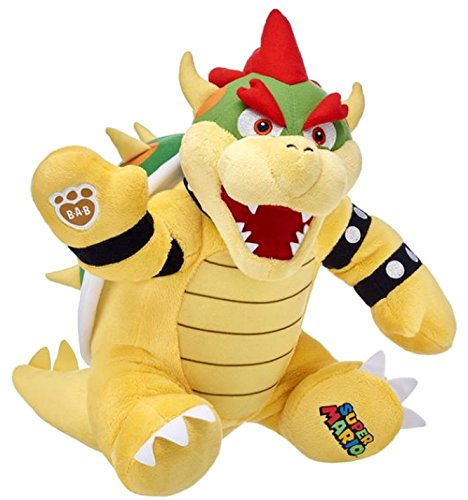 Build a Bear Bowser King Koopa Super Mario Bros. 15in. Stuffed Plush Toy