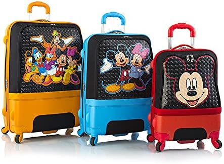 Heys Disney Clubhouse Hybrid Luggage Suitcase Set 3-Pieces