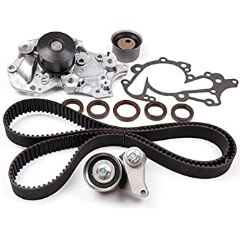 ECCPP Timing Belt Kit Water Pump for 06-10 Hyundai Santa Fe Kia Optima Rondo 2.7L