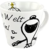 United Labels 119994 Peanuts - Tasse Say it with Snoopy - Verändere die Welt
