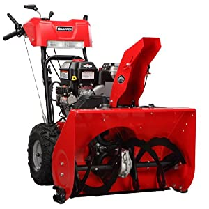 B008YFVXYU_Snapper 1696172 900 Snow Series OHV Engine Dual Stage Snow Thrower, 24-Inch