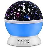 Projector For Kids, Peyou® [3 Modes] Projector Night Light Romantic Rotation Star Moon & Cosmos Lamp LED Night light Starlight Projector for Baby Children Kids Bedroom, Mood/Decorative Light, Baby Nursery Light