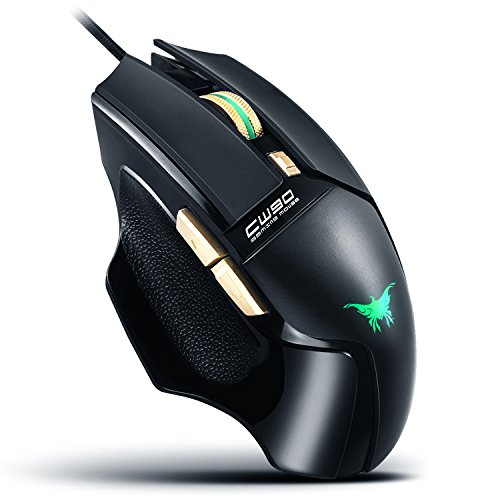 AOSO-CW90-Gaming-Mouse-USB-Wired-Led-20-Millions-Key-Life-Combaterwing-Game-Mice-With-Genuine-3800-DPI-Optical-Sensor-4-Colour-Lighting-Effect-Anti-Slip-Side-Design-Ergonomic-Shape-for-PC-Mac
