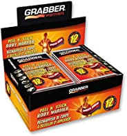 Grabber Warmers Peel N' Stick Body Warmers - Long Lasting Safe Natural Odorless Air Activated Warmers - Up