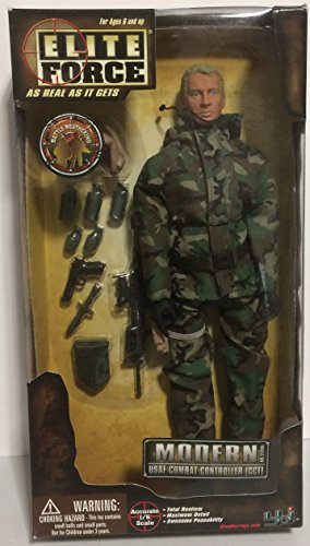 "USAF COMBAT CONTROLLER CCT ACTION FIGURE 12"" 1:6 BLUE BOX EL"