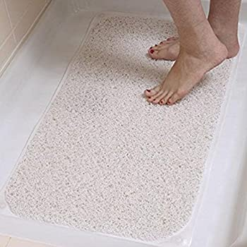 Amazon Com Loofah Shower Mat With Eight Suction Cups Non