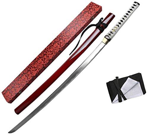 """Master Cutlery TR-027RD-MC TR-027RD Tenryu 40"""" Hand-Forged K"""