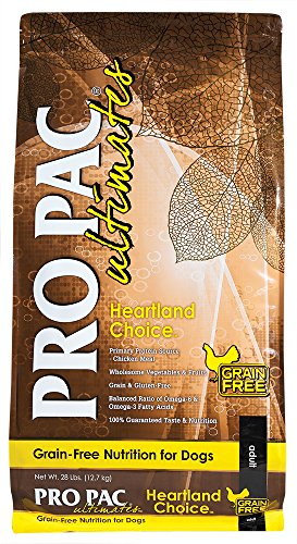 Midwestern PRO PAC Ultimates Dry Dog Food, 28 Pound, Gluten Free Chicken