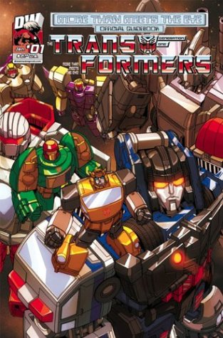 Transformers Generation One: More Than Meets The Eye Official Guidebook Volume (Dreamwave Productions Transformers)
